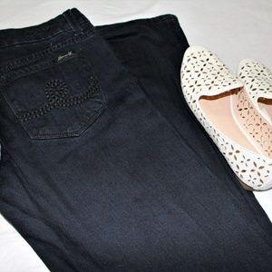 Seven7 Dark Wash Bootcut Jeans